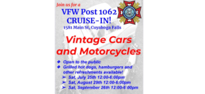 VFW Cruise-In @ VFW Post 1062